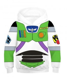 Blusa Moletom Infantil 3d Full Toy Story Buzz Lightyear