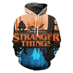 Blusa De Frio 3d Full  Stranger Things Série