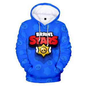 Blusa De Frio 3d Full Brawl Stars Game Jogo