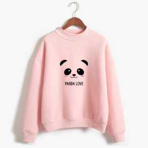 Moletom Blusa Careca Panda Love Cute
