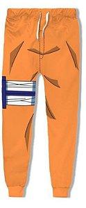 Calça 3d Full Anime Naruto Uzumaki Cosplay