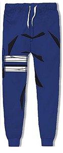 Calça 3d Full Anime Naruto Sasuke Uchiha Cosplay