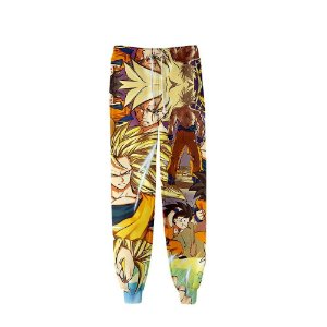 Calça 3d Full Anime Dragon Ball Personagens