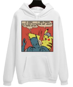 Blusa Moletom Canguru Batman Pikachu Piada Pokemon