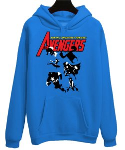 Blusa Moletom Canguru Avengers Vingadores Mightiest Heroes on Earth