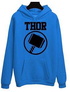 Blusa Moletom Canguru Vingadores Avengers Filme Thor Martelo