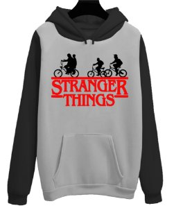 Blusa Moletom Canguru Série Stranger Things Bike