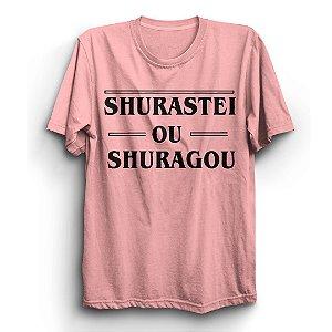 Camiseta Unissex Stranger Things Série Shurastei Ou Shuragou