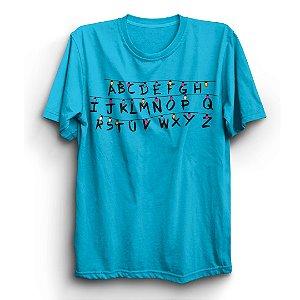 Camiseta Unissex Stranger Things Série Luzes