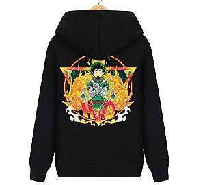 Blusa Moletom Canguru Anime Boku No Hero Deku
