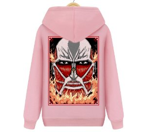 Blusa Moletom Canguru Anime Attack On Titan