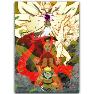 Painel Quadro 1 Tela Anime Naruto  60x40cm