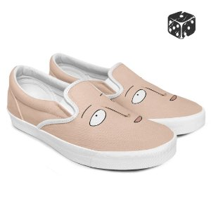 Tênis Slip-On Saitama One Punch Man Careca