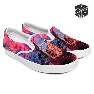 Tênis Slip-On Anime Attack On Titan Tropa