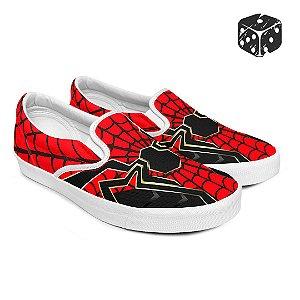 Tênis Slip-On Homem Aranha