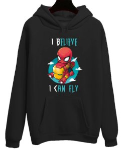 Blusa Moletom Canguru I believe I Can Fly
