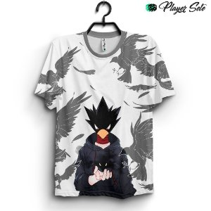 Camiseta 3d Full Anime Boku no Hero Fumikage Tokoyami