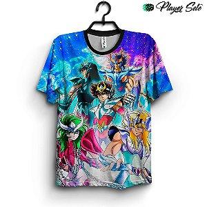 Camiseta 3d Full Cavaleiros Do Zodiaco