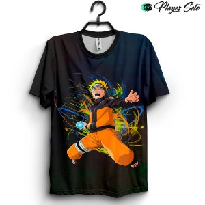 Camiseta 3d Full Naruto Anime
