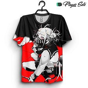 Camiseta 3d Full Anime Boku No Hero Himiko Toga