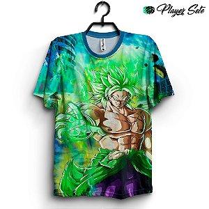 Camiseta 3d Full Dragon Ball Broly