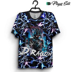 Camiseta 3d Full Dragon Ball Thunder