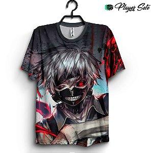 Camiseta 3d Full Anime Tokyo Ghoul