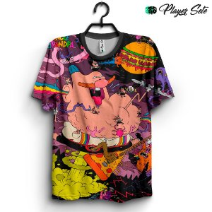 Camiseta 3d Full Titio Avô