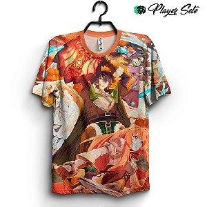 Camiseta 3d Full Anime Tate no Yūsha no Nariagari