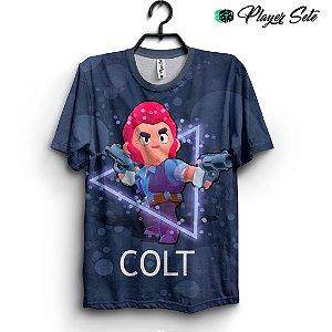 Camiseta 3d Full Jogo Brawl Stars Colt