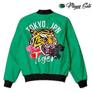 Jaqueta Bomber Com Bolsos Tokyo Tiger