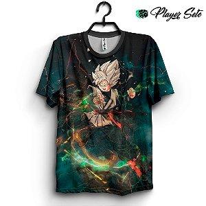Camiseta 3d Full Anime Dragon Ball Goku