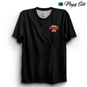 Camiseta Básica Unissex Jogo Brawl Star Logo