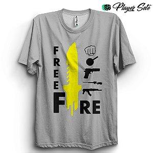Camiseta Básica Unissex Jogo Free Fire