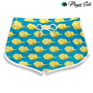 Short Feminino Nuvens Dragon Ball