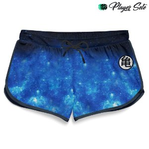 Short Feminino Anime Dragon Ball Galaxy