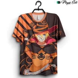 Camiseta 3D Full Halloween Anime Naruto