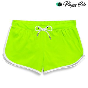 Short Feminino Liso Green