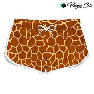 Short Feminino Praia Girafa