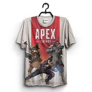 Camiseta 3D Full Jogo Apex