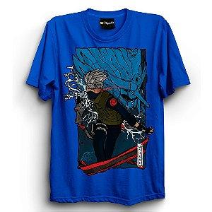 Camiseta Básica Anime Naruto Kakashi Sensei