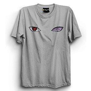 Camiseta Básica Anime Naruto Sharigan
