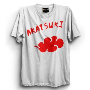 Camiseta Básica Anime Naruto Akatsuki