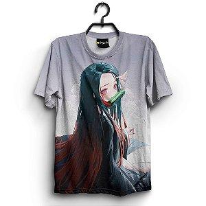 Camiseta 3d Full Anime Kimetsu no Yaiba Nezuko