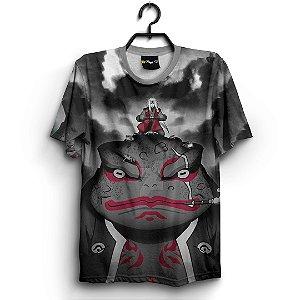 Camiseta 3d Full Anime Naruto Jiraya