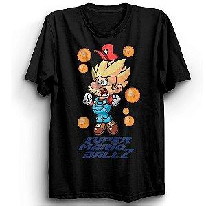 Camiseta Básica  Jogo Mario Dragon
