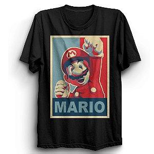 Camiseta Básica Jogo Super Mario