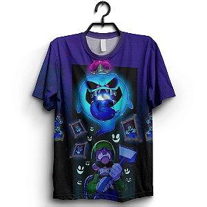 Camiseta 3d Full Jogo Mario Luidi