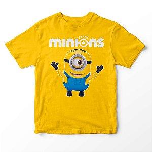 Camiseta Infantil Filme Meu Malvado Favorito Minions