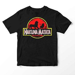 Camiseta Infantil Filme  Rei Leão Hakuna Matata